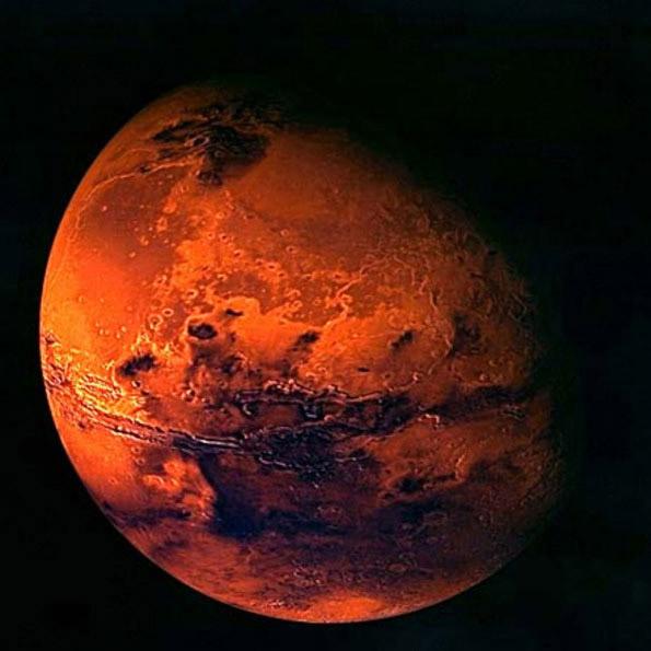 The-planet-mars